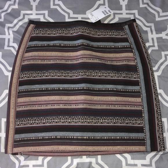 H&M Dresses & Skirts - Multi-Colored Striped Skirt